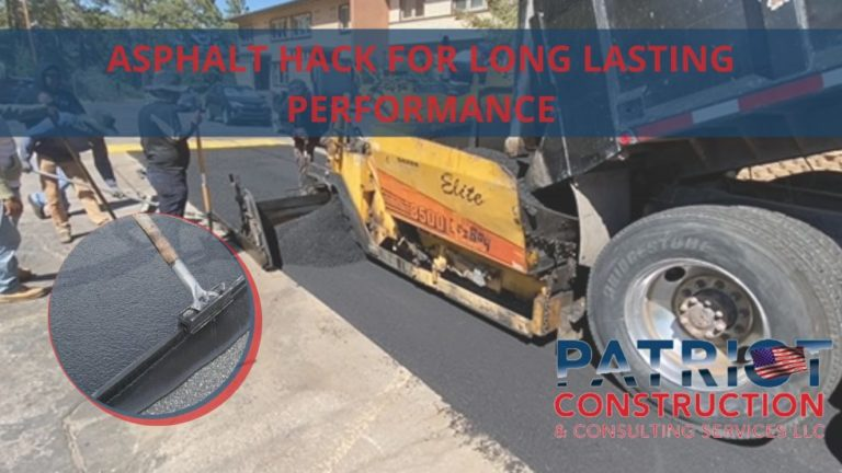 Quick Tips for Getting the Best Long-Lasting Performance from Asphalt Paving