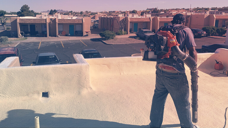 SPRAY FOAM ROOFING MAINTENANCE IS IMPORTANT