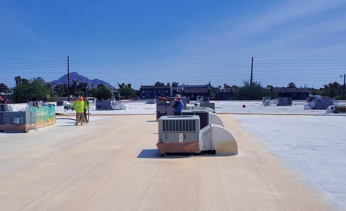 SPRAY FOAM ROOFING SYSTEM IS THE BEST FOR YOUR FLAT ROOF BUILDING