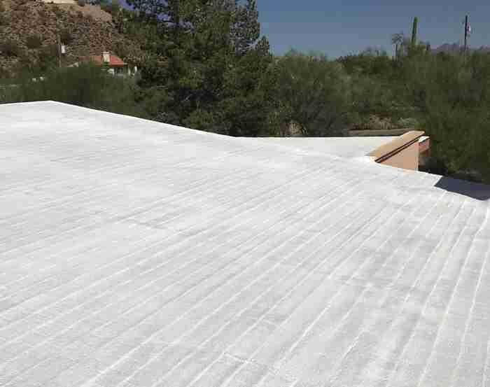 Spray Foam Roofing Gallery 1