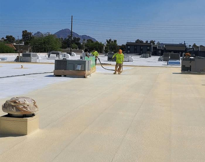 Spray Foam Roofing Gallery 32