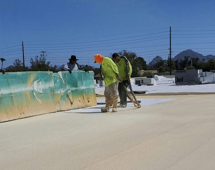 Spray Foam Roofing Gallery 33