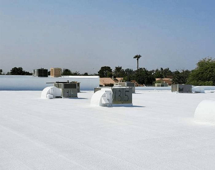 Spray Foam Roofing Gallery 35