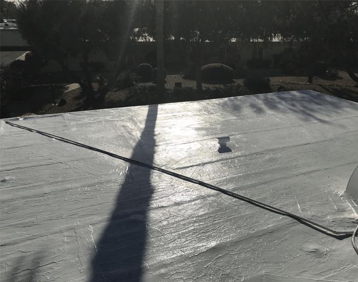 Spray Foam Roofing Gallery 10