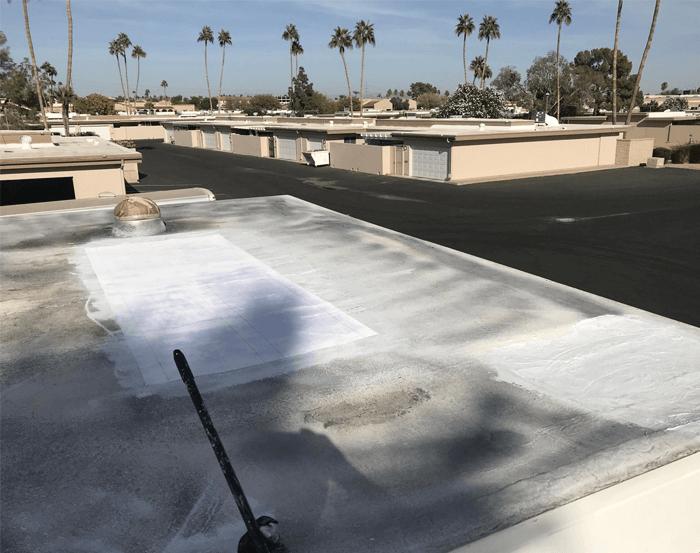 Spray Foam Roofing Gallery 12