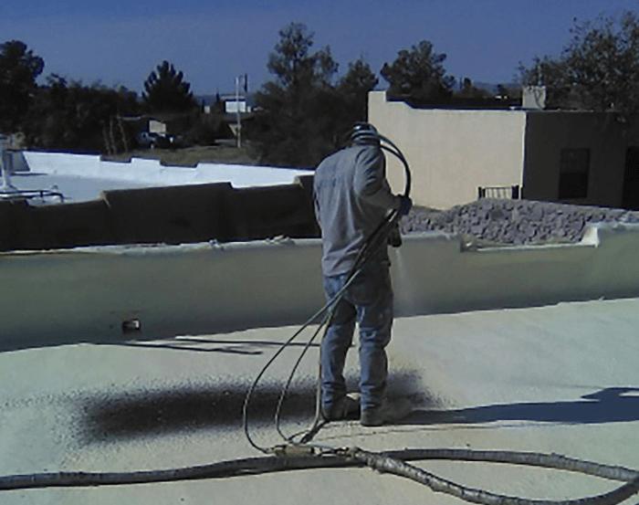 Spray Foam Roofing Gallery 15