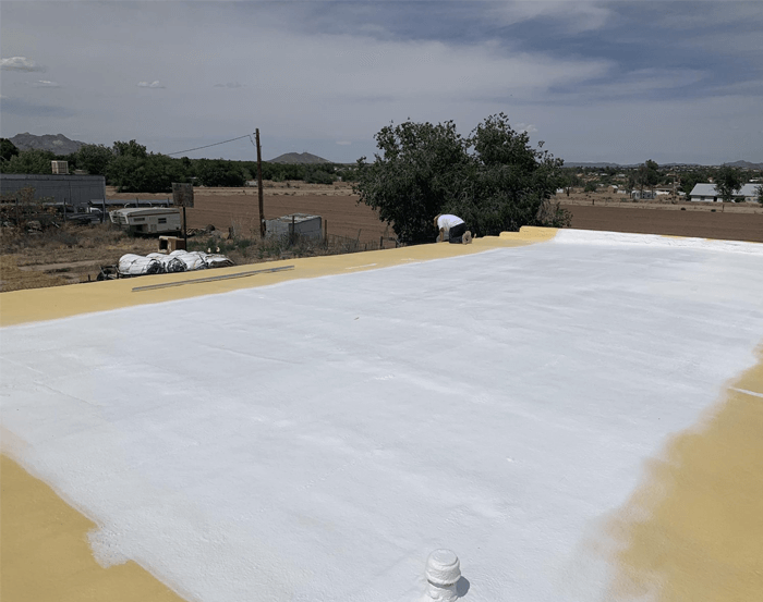 Spray Foam Roofing Gallery 17