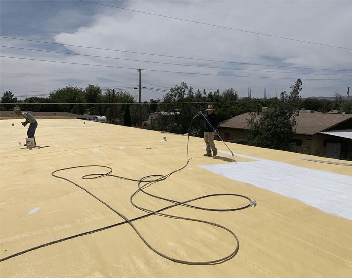 Spray Foam Roofing Gallery 18