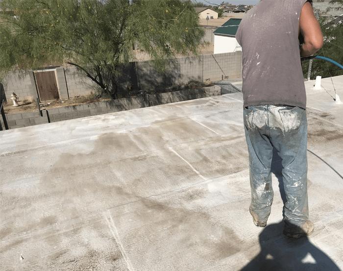 Spray Foam Roofing Gallery 6