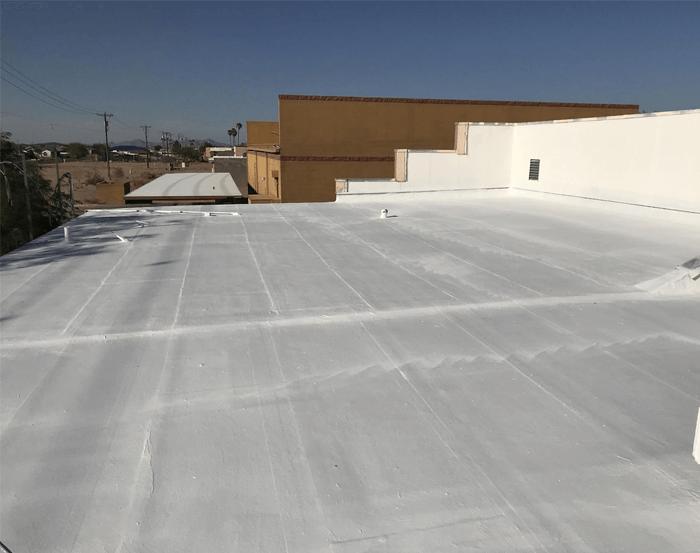 Spray Foam Roofing Gallery 7