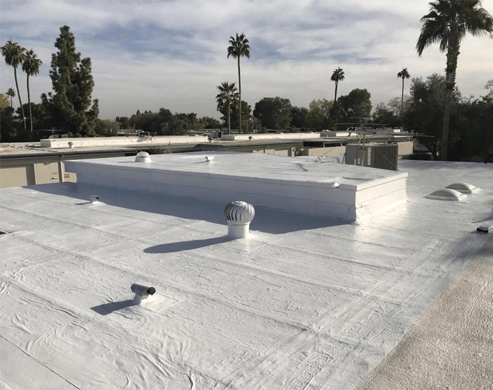 Spray Foam Roofing Gallery 8